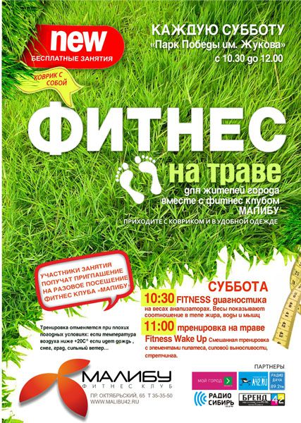 ФИТНЕС ПЛАКАТ А1