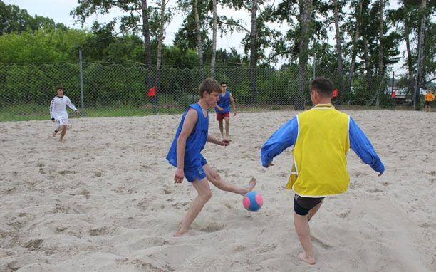 Турнир По пляжному футболу!