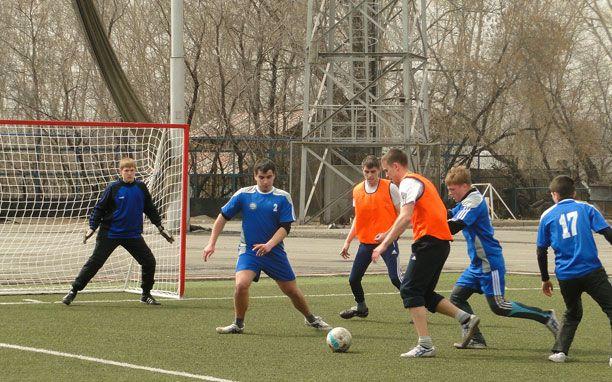 Первенство по мини-футболу!