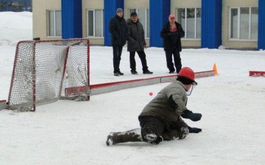 Турнир по хоккею на валенках!