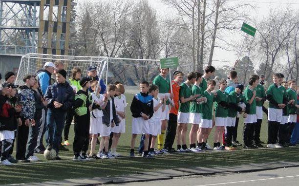 1 этап Всероссийских соревнований по футболу «Будущее зависит от тебя»