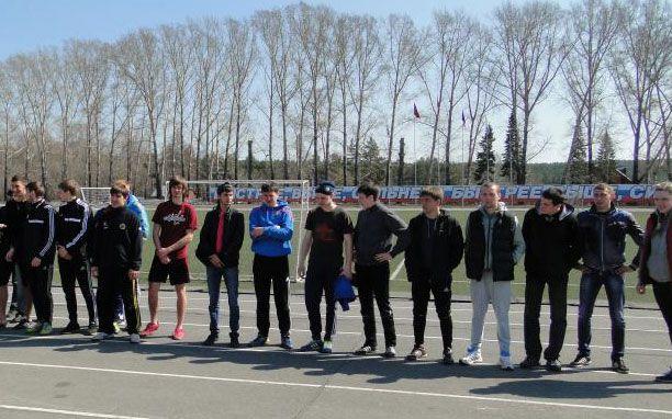 Финал турнира по фотболу среди СПО