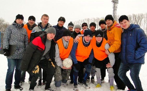 Футбольный турнир на призы Деда Мороза