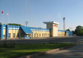 Стадион лето фасад