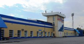 Стадион фасад